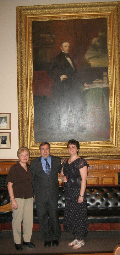 Picture with Mother & Wife (2007)